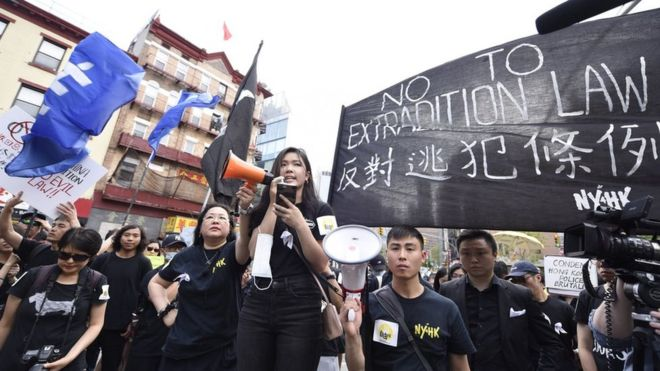 hong kong protest BBC